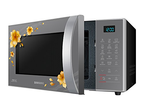 Samsung 21 liters black colour microwave