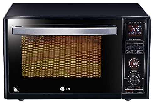 black colur LG microwave oven 32 liters