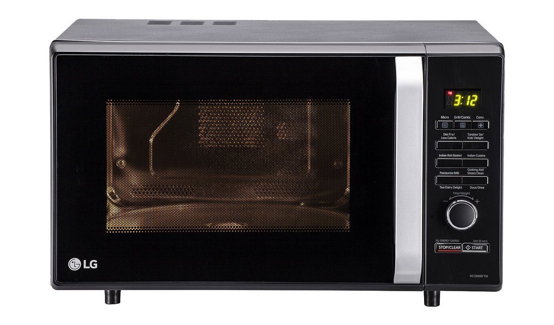28 liters capacity LG convection microwave oven