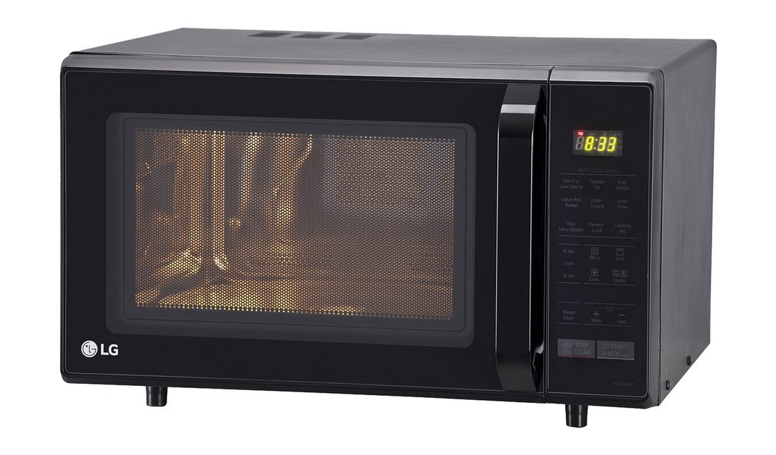 LG 28 liters microwave oven