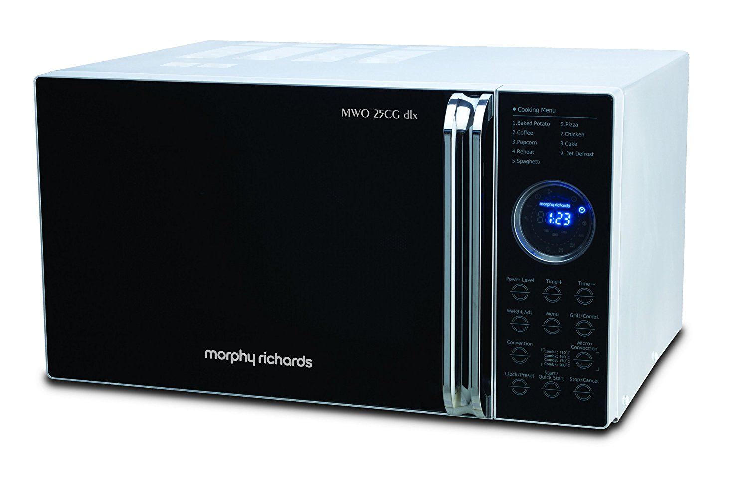 25 liters Morphy Richards microwave oven
