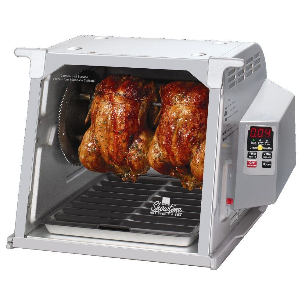 Ronco st5000plgen digital showtime rotisserie and bbq oven.