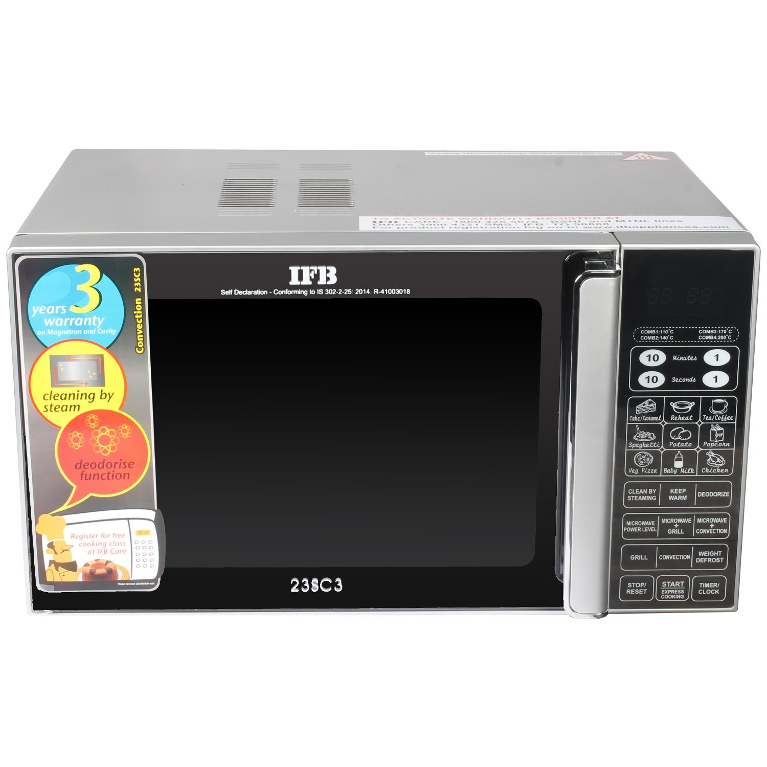 convection microwave oven ifb