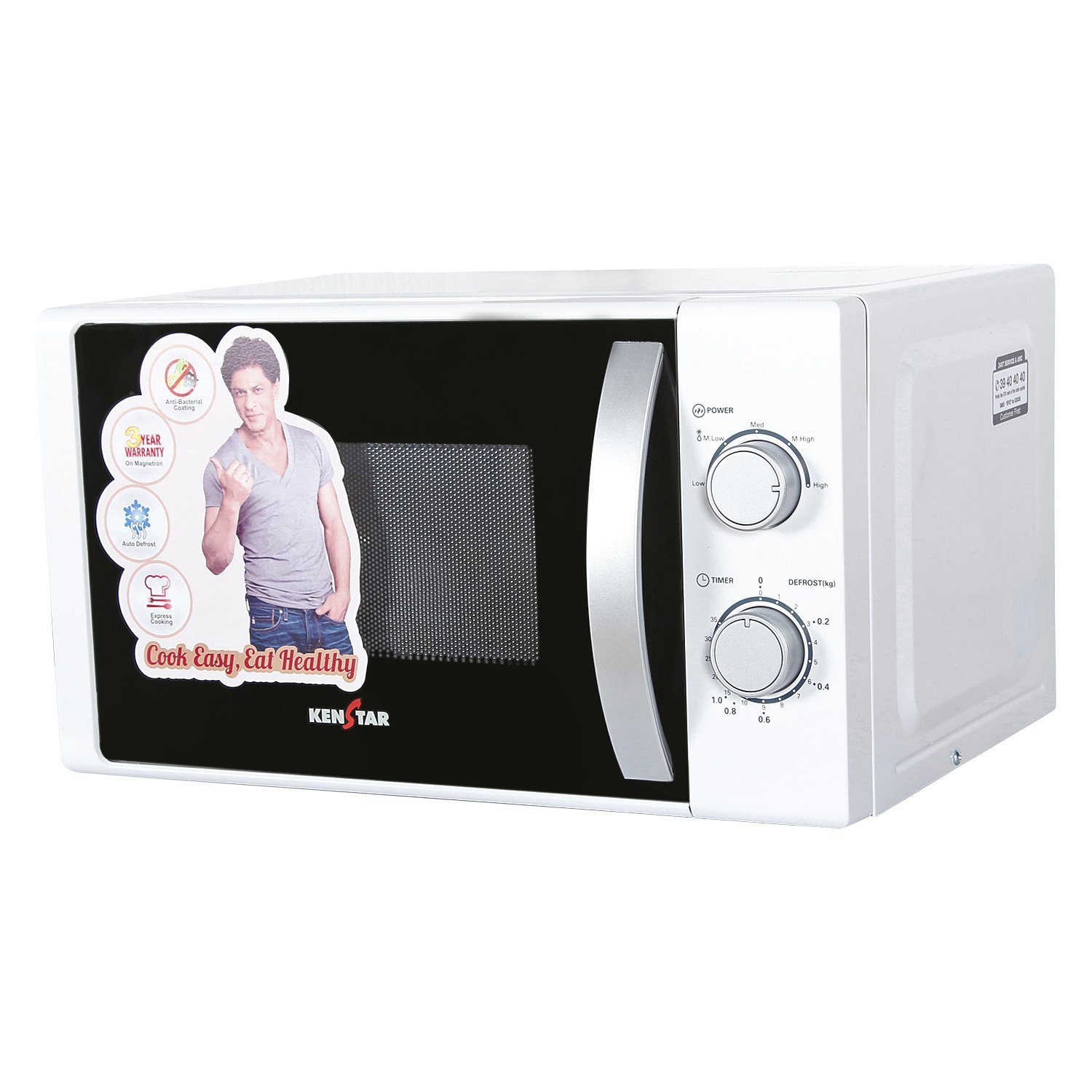 Kenstar microwave oven white color