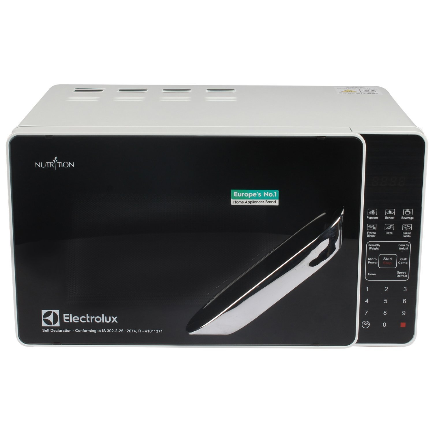 Electrolux 20 L Grill Microwave Oven (M/O G20K WB-CW, Black and Silver)