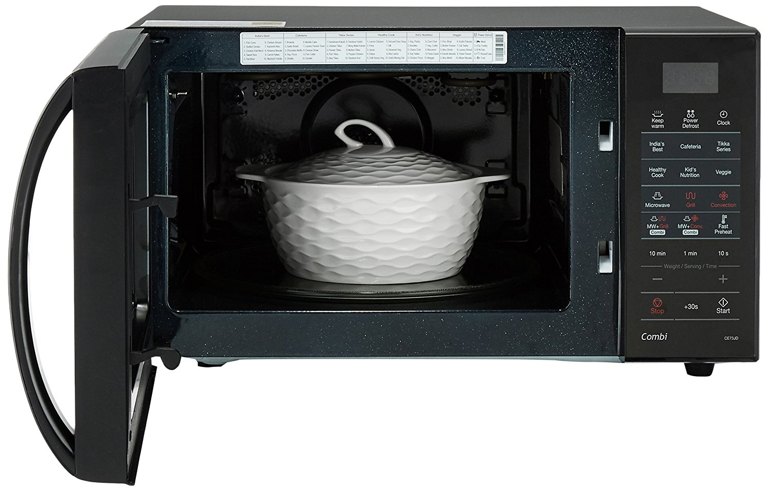 Samsung Black Exterior Microwave Oven