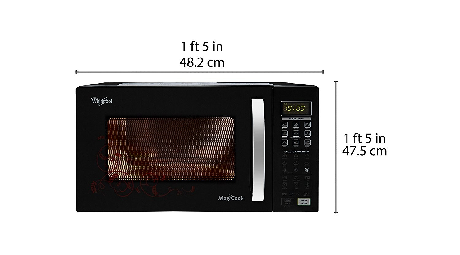 microwave from Whirlpool brand