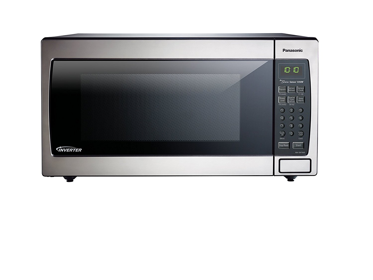 Panasonic NN-SN766S Countertop/Built-In Microwave with Inverter Technology, 1.6 cu. ft. , Stainless