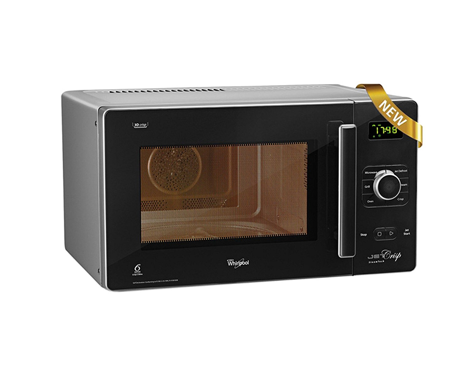 jet crisp Whilpool microwave