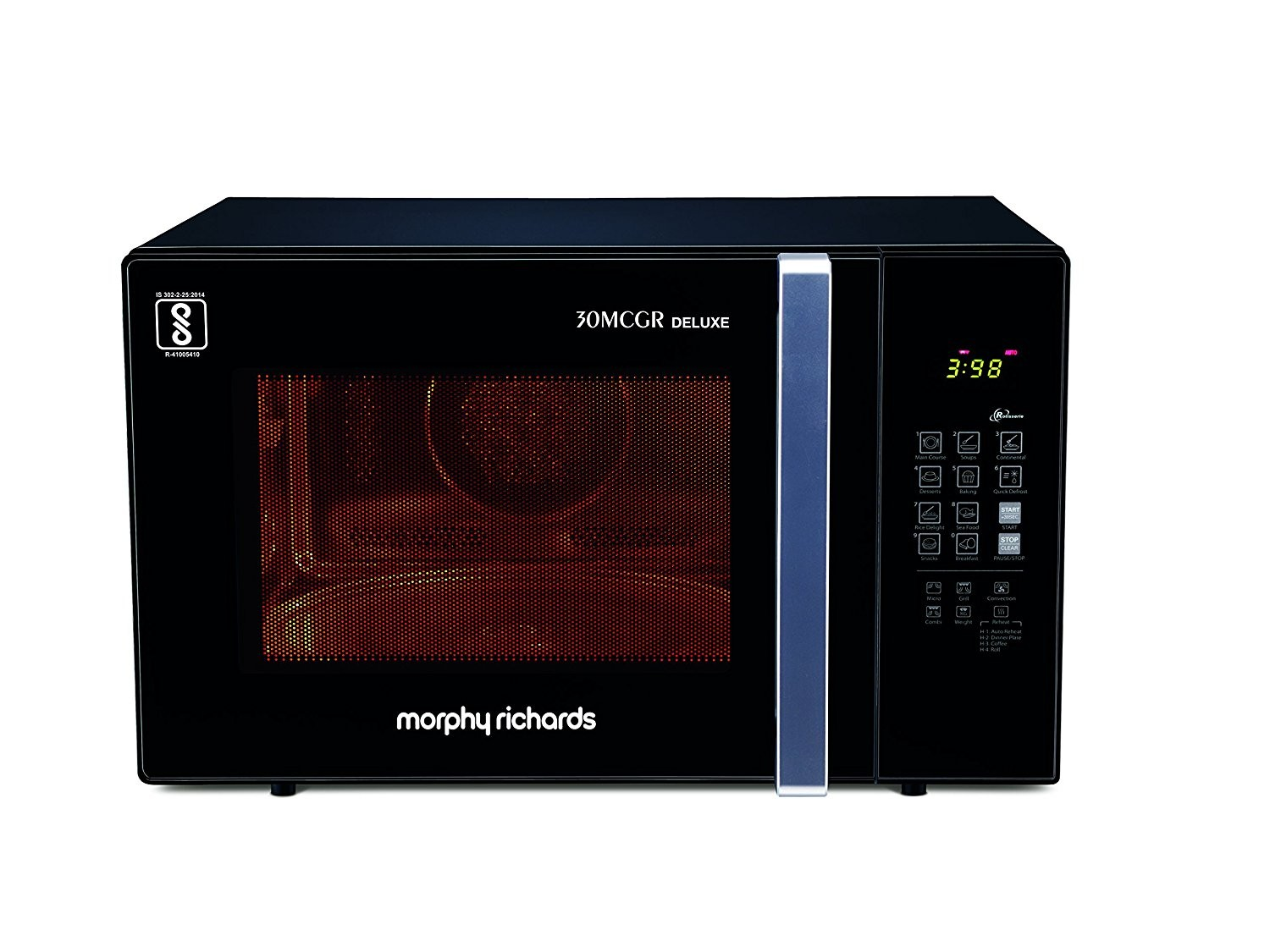 30MCGR 30 liters Morphy Richards microwave oven
