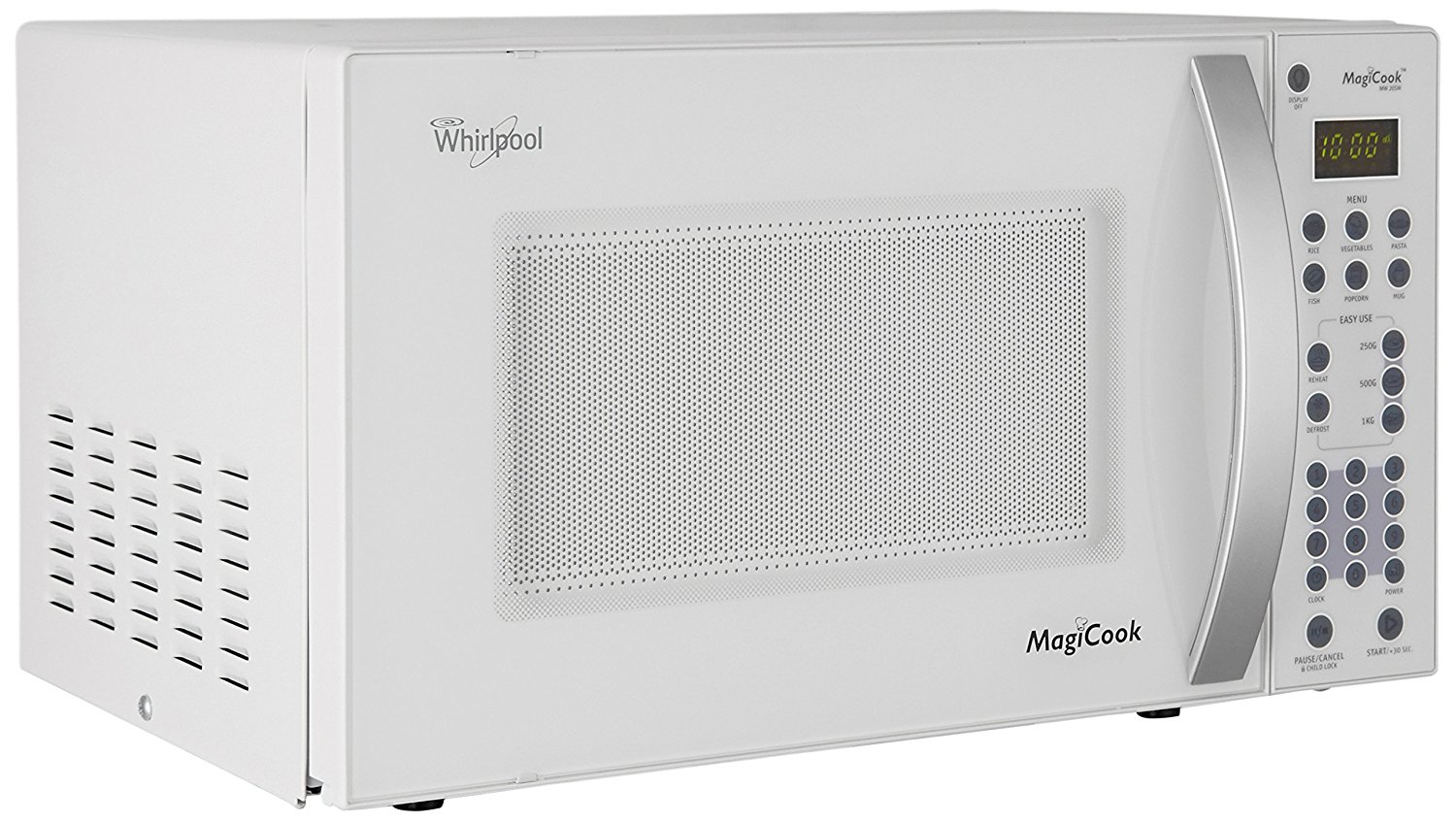 Whirlpool microwave oven black color