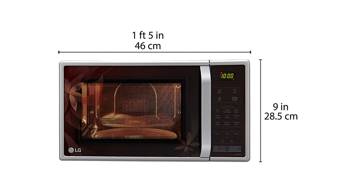 Silver Color LG Microwave Oven High Capacity