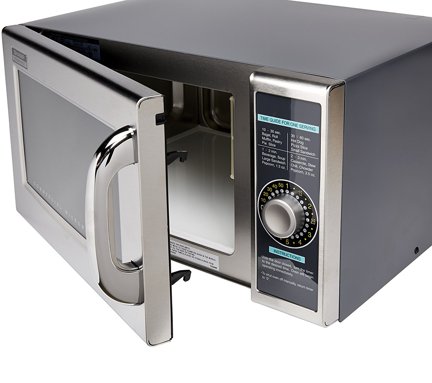 Sharp dial  microwave oven