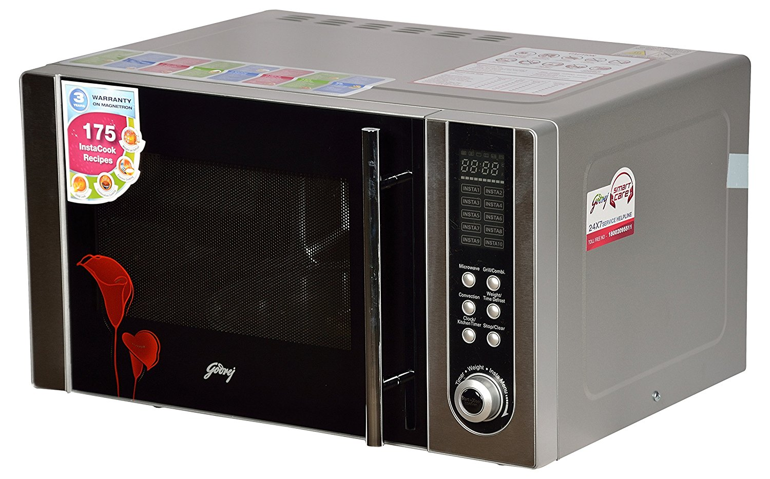 23 Liters Godrej convection microwave unit