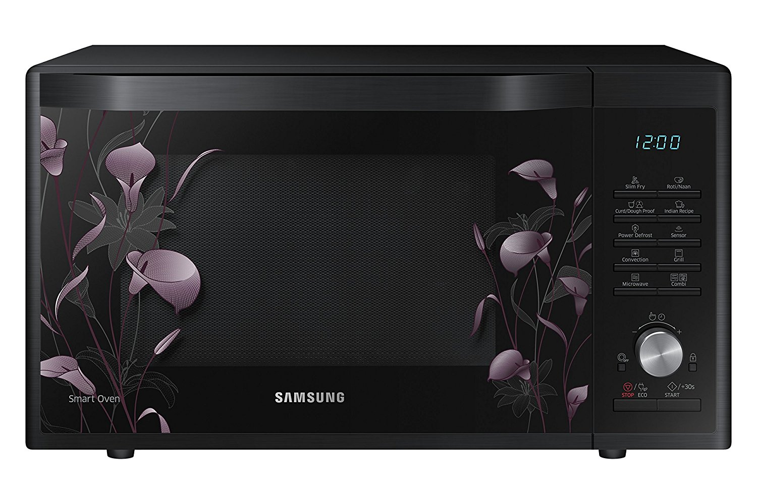 Samsung 32 L Convection Microwave Oven (MC32J7055VB/TL, Black Floral)