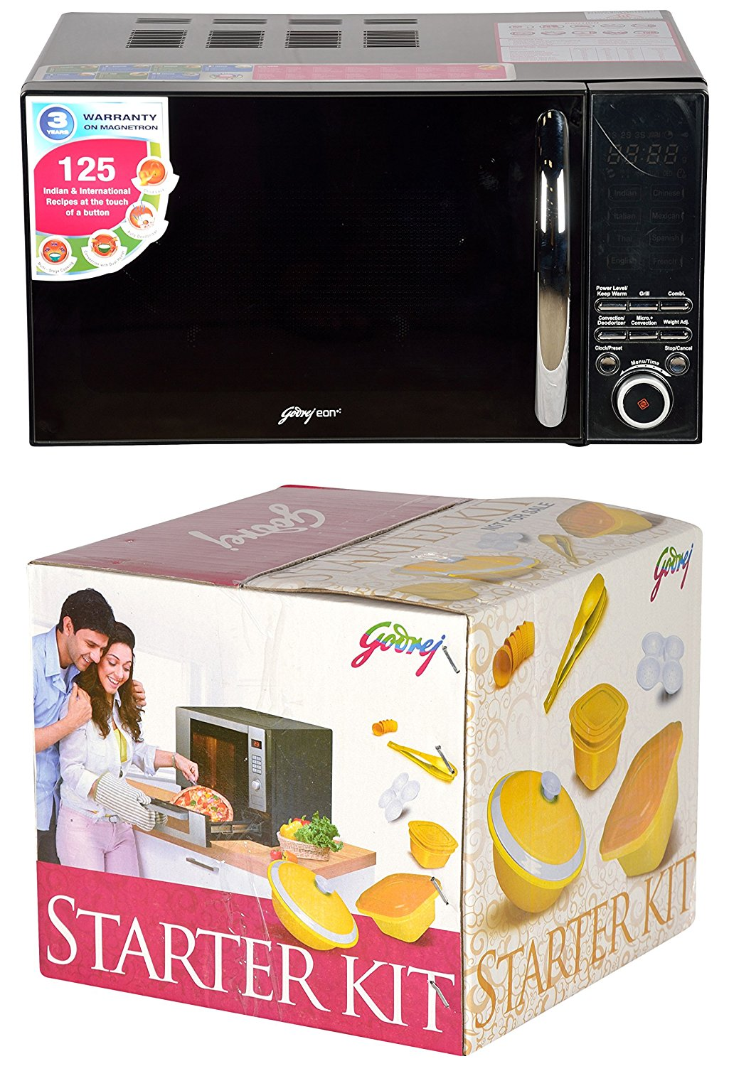 High Cooking Power Godrej Microwave Oven
