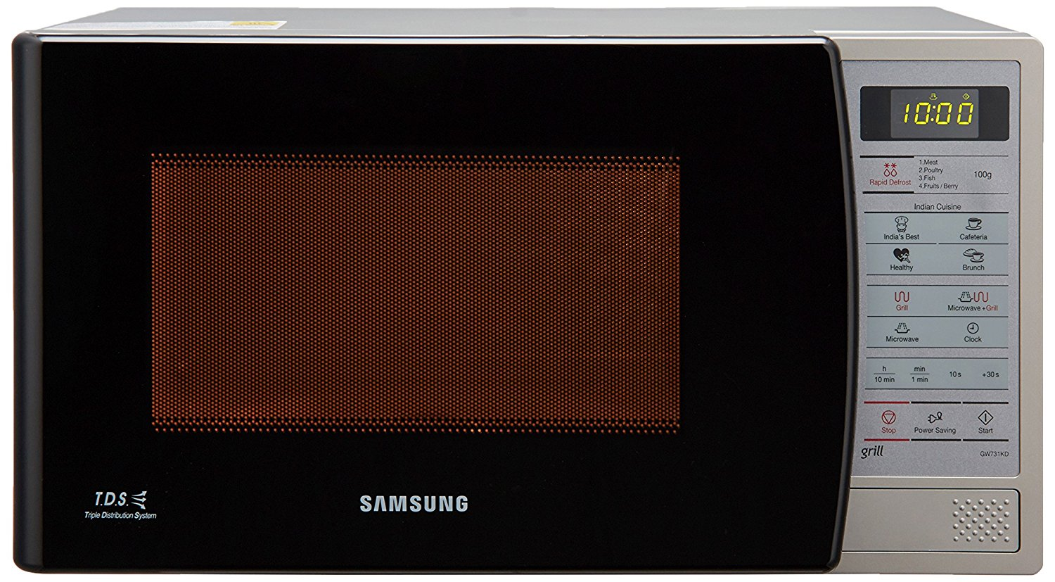 Samsung 20 L Grill Microwave Oven (GW731KD-S/XTL, Black)