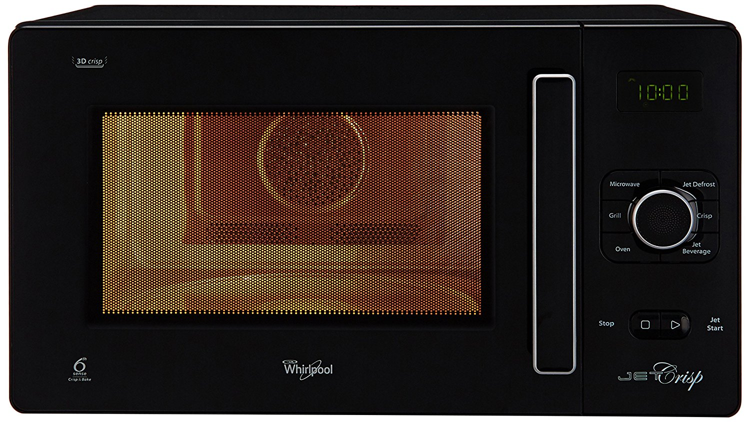 25 liters capacity Whirlpool convection microwave oven