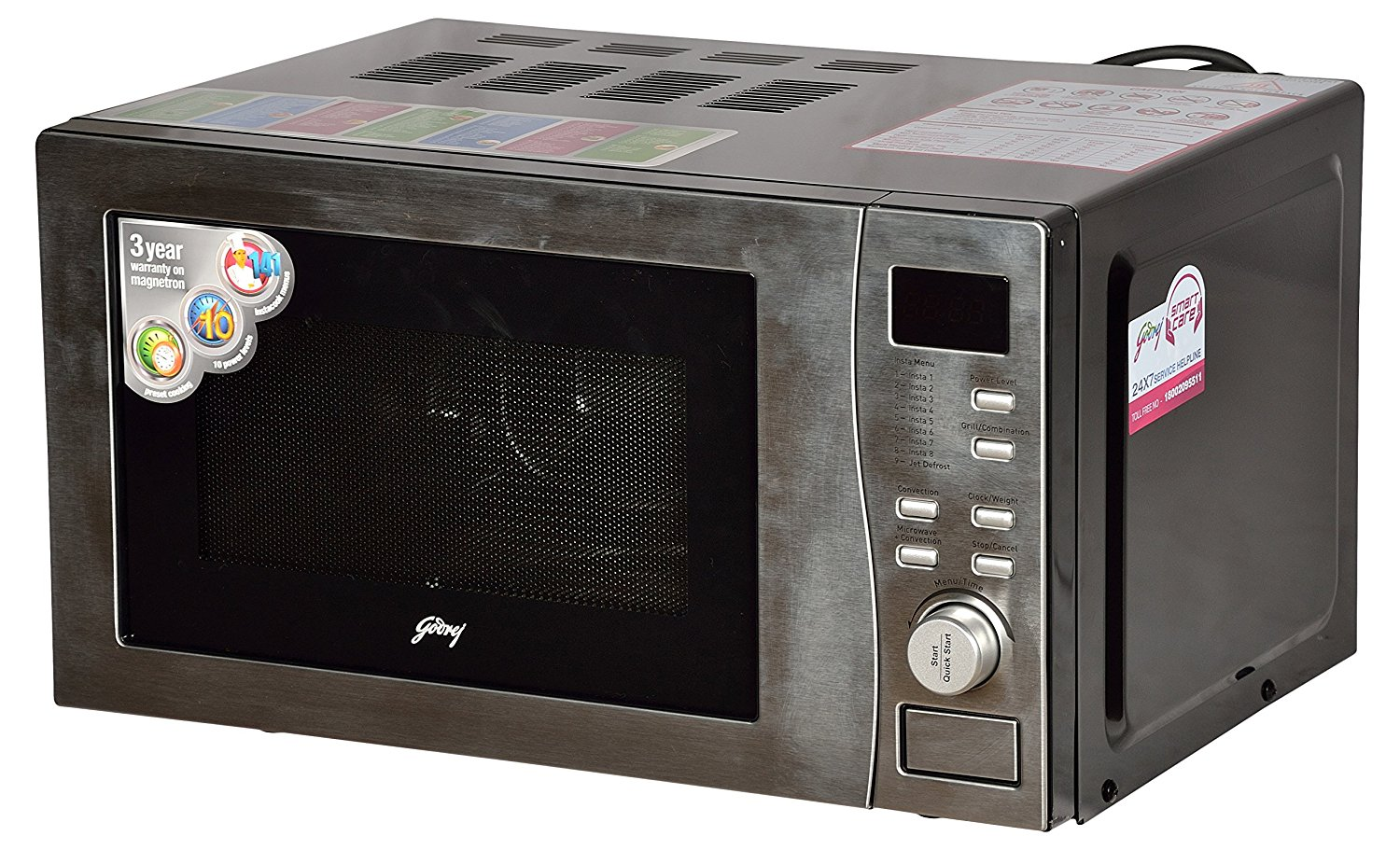 Godrej 20 L Convection Microwave Oven Gmx20ca6plz Clear