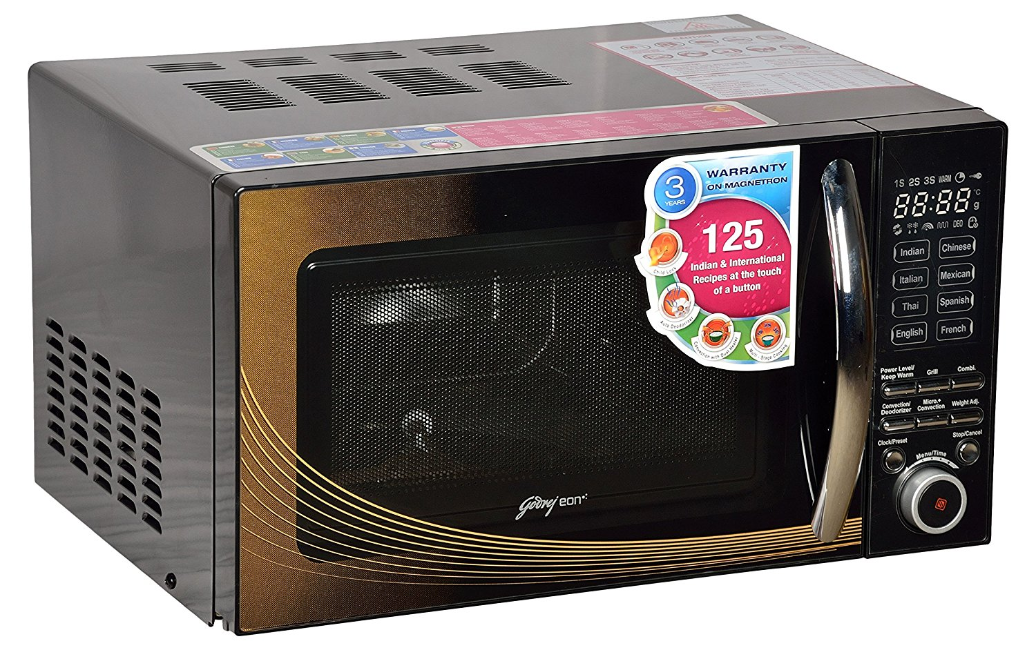 20 Liters convection microwave oven from Godrej